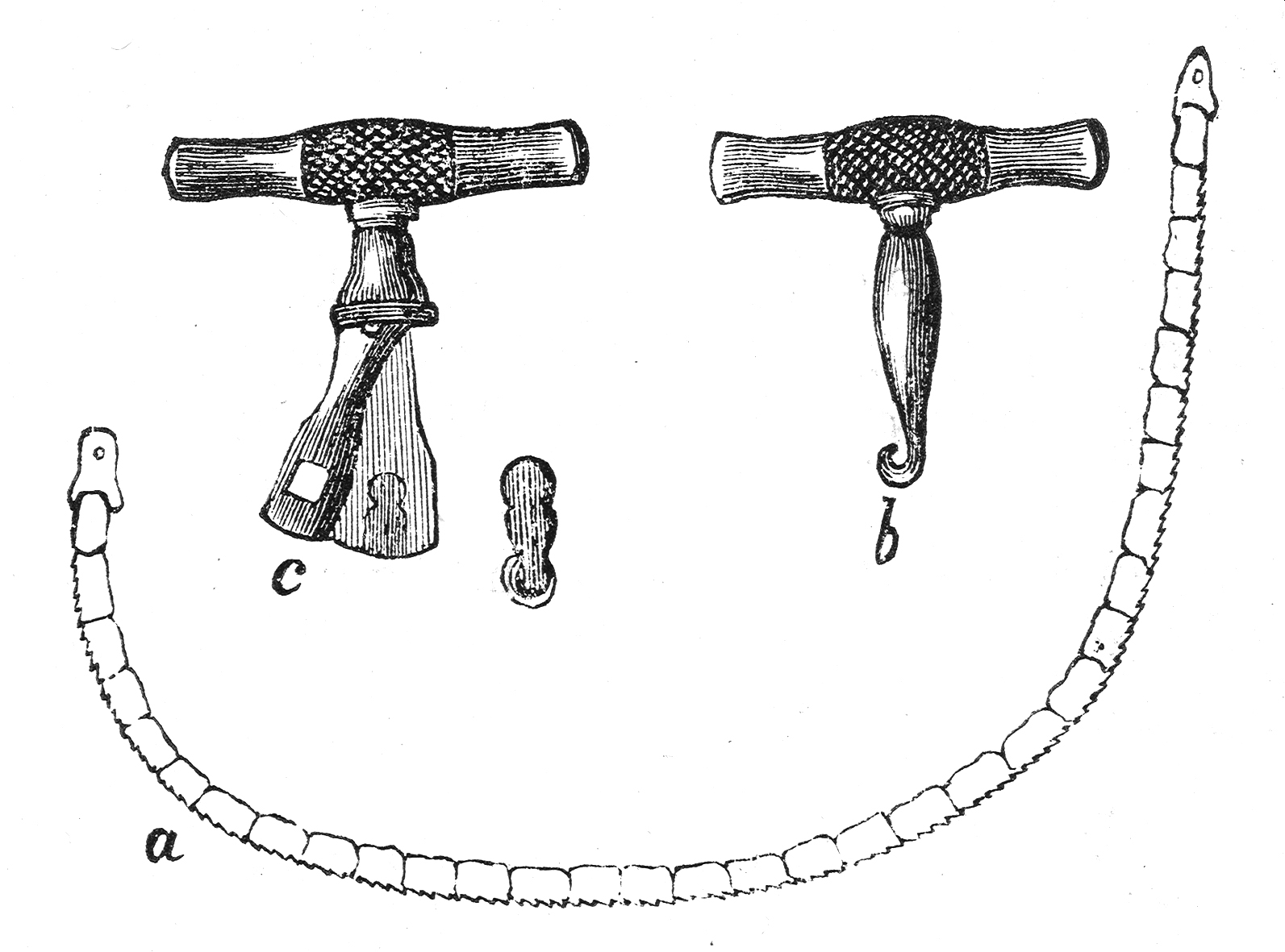 Surgical chain saw